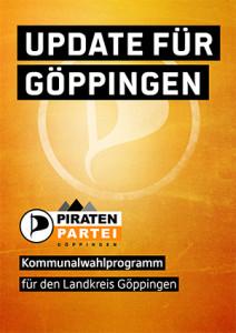 Kommunalwahlprogramm Piratenpartei Göppingen